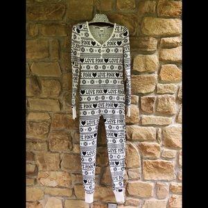 PINK Victoria's Secret Women's Onsie Pajamas XS